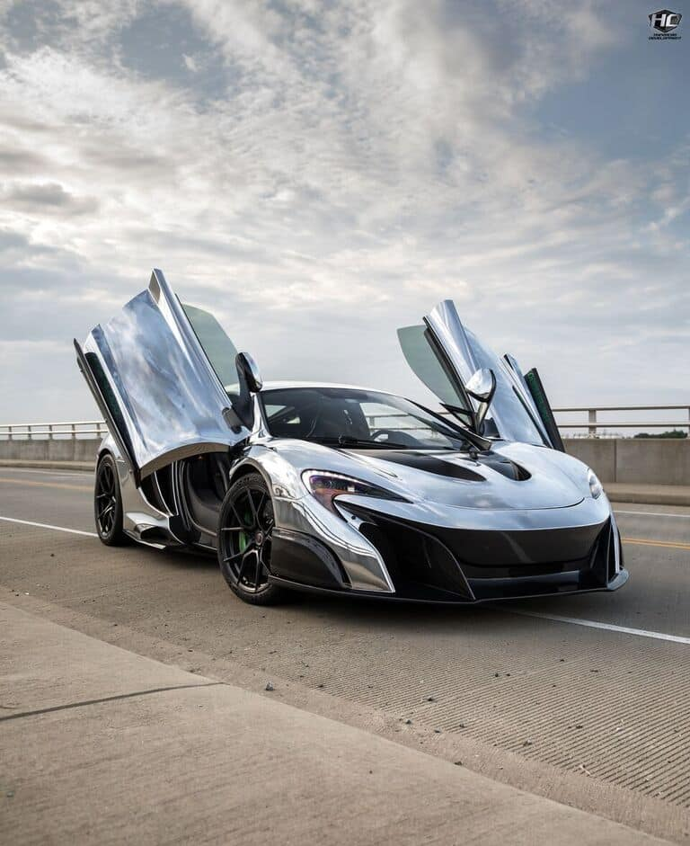 Chrome McLaren LT