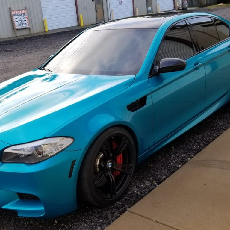 Atomic Teal BMW M5
