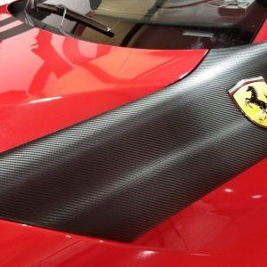Carbon Fiber Accents Ferrari F12