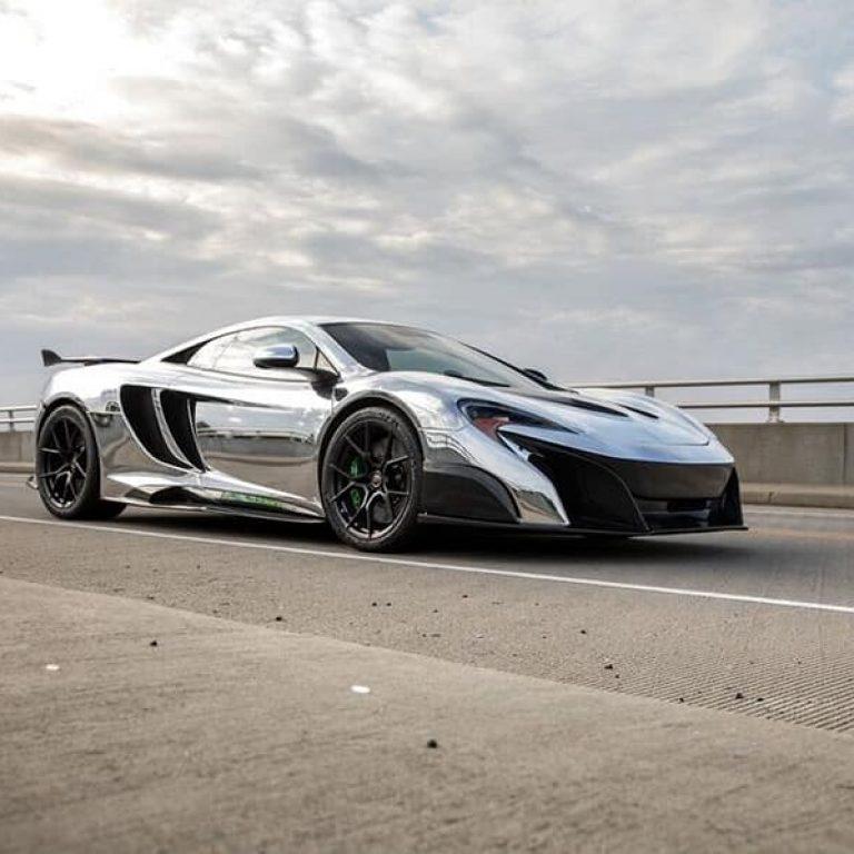 Chrome McLaren LT