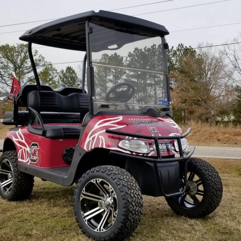 E-Z-GO Gamecocks Golf Cart