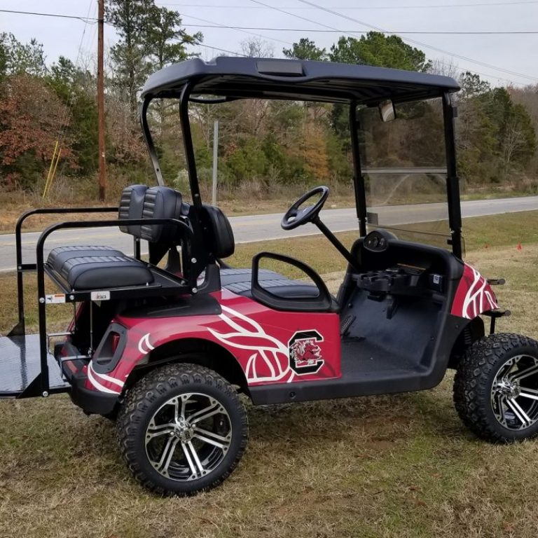 E-Z-GO Gamecocks Golf Cart