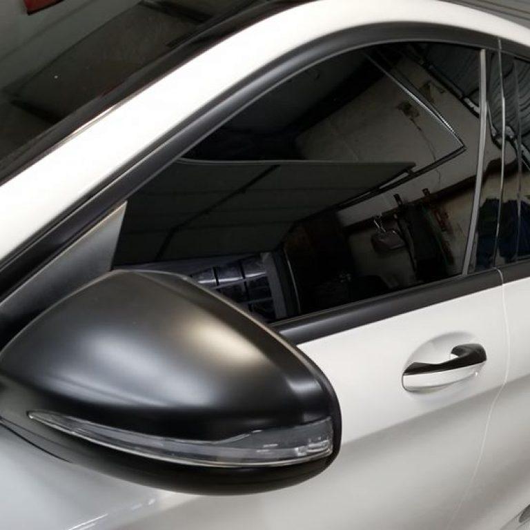 Mercedes C300 Chrome Delete