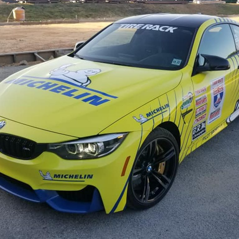 Michelin One Lap of America BMW M4