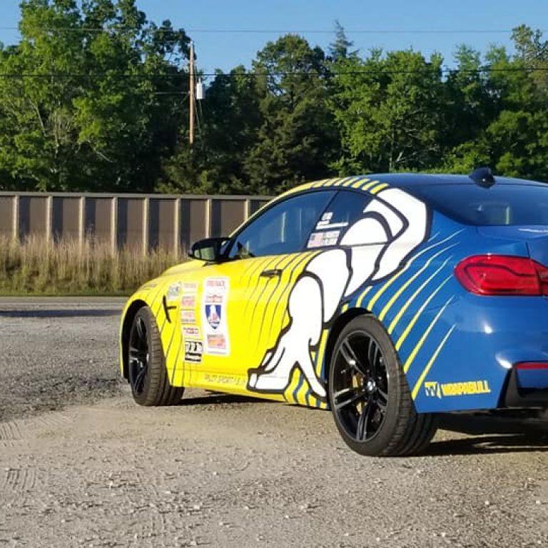 Michelin One Lap of America BMW M4