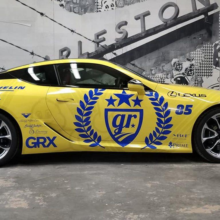 Michelin Gold Rush Rally Lexus LC500
