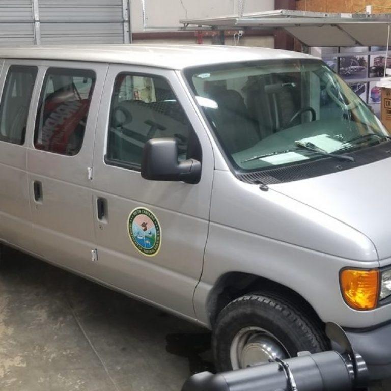 SC DNR Ford E-350