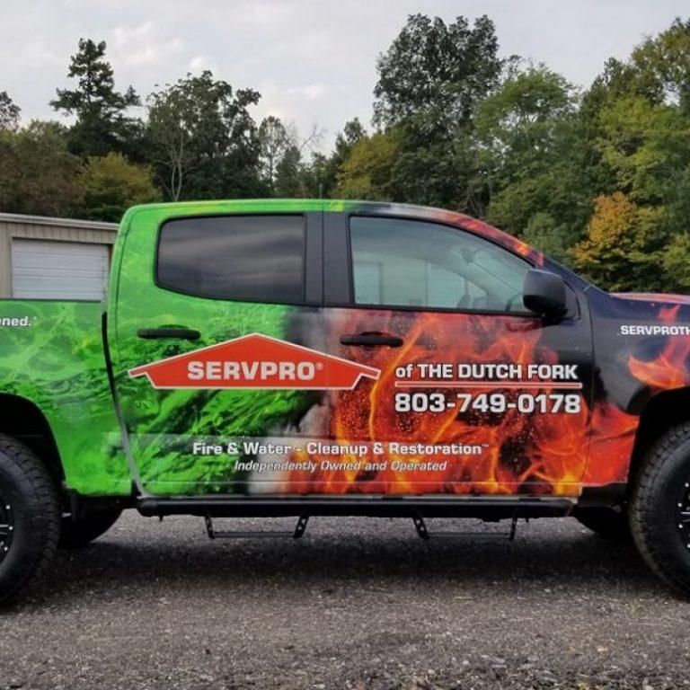 Servpro Dutch Fork Chevrolet Colorado