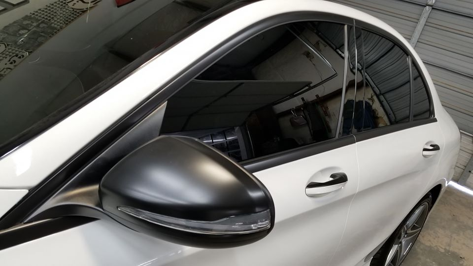 Mercedes C300 Chrome Delete
