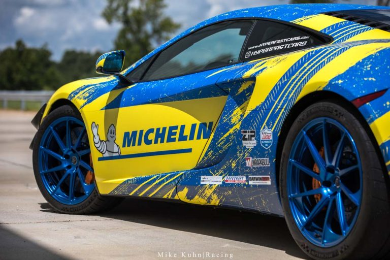 Michelin McLaren MP4-12C