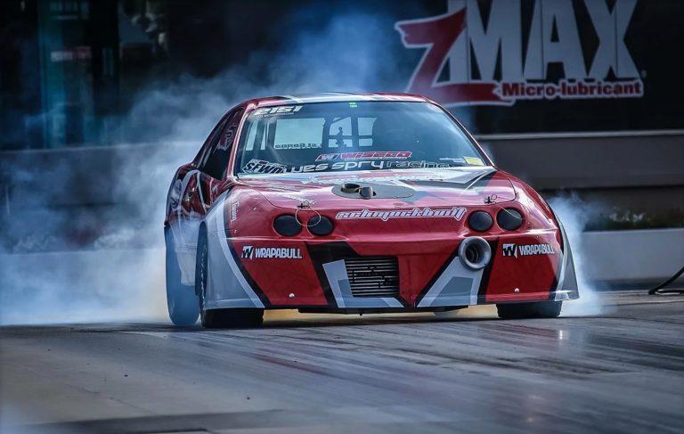 Wes Spry Racing Acura Integra Drag Car